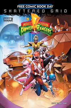 Mighty Morphin Power Rangers FCBD - Free comic book day 2018