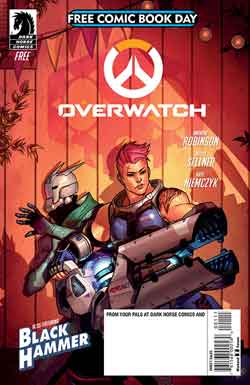 Overwatch FCBD - Free comic book day 2018