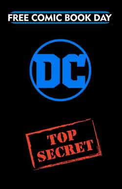 DC Comics top secret book FCBD - Free comic book day 2018