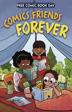 Comics Friends Forever FCBD - Free comic book day 2018