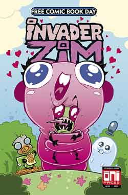 Invader Zim FCBD - Free comic book day 2018