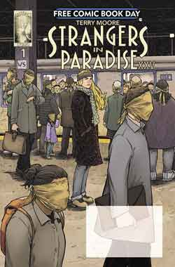 Strangers in Paradise FCBD - Free comic book day 2018