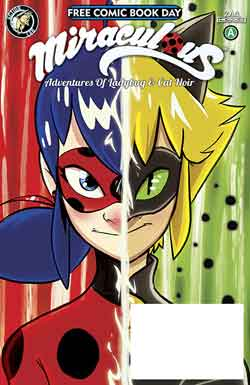 Miraculous FCBD - Free comic book day 2018