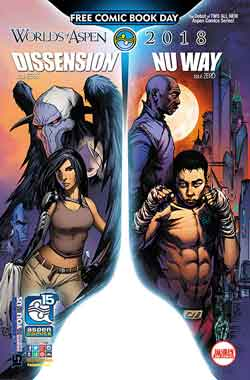 Dissension Nu Way FCBD - Free comic book day 2018