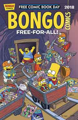 Bongo Free-For-All FCBD - Free comic book day 2018
