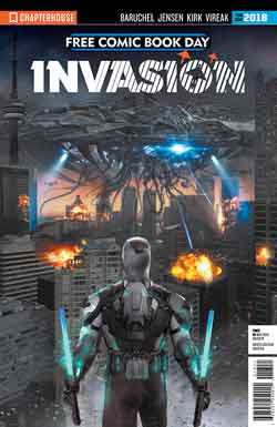 Invasion FCBD - Free comic book day 2018