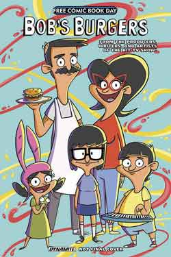 Bob's Burger FCBD - Free comic book day 2018