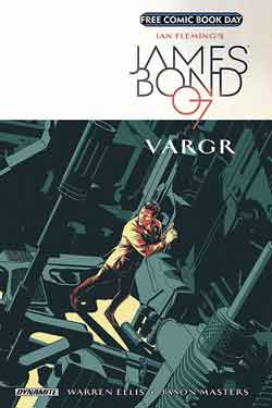 James Bond 007 Vargr FCBD - Free comic book day 2018