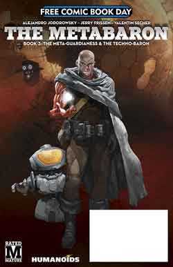 The Metabaron FCBD - Free comic book day 2018