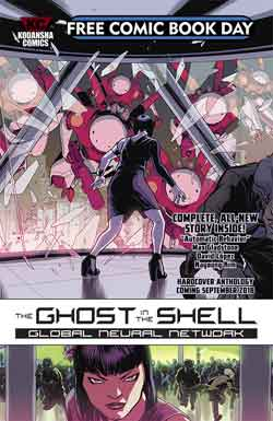 Ghost in the shell FCBD - Free comic book day 2018