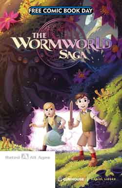 The wormworld saga FCBD - Free comic book day 2018