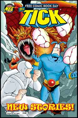 The tick FCBD - Free comic book day 2018