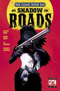 Shadow Roads FCBD - Free comic book day 2018