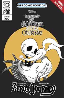 The nightmare before christmas FCBD - Free comic book day 2018