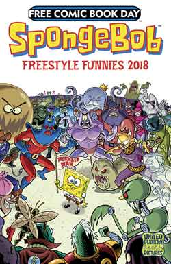 SpongeBob Freestyle Funnies FCBD - Free comic book day 2018