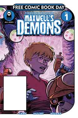 Maxwell's demons FCBD - Free comic book day 2018