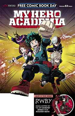 My hero Academia FCBD - Free comic book day 2018