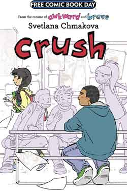 Crush FCBD - Free comic book day 2018