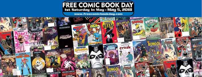 2018 Free Comic Book Day