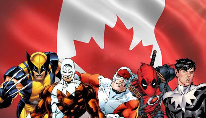 Our list of Canadian heroes for Canada Day!