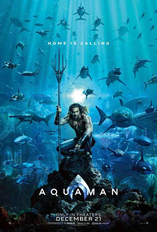 DC Aquaman movie poster