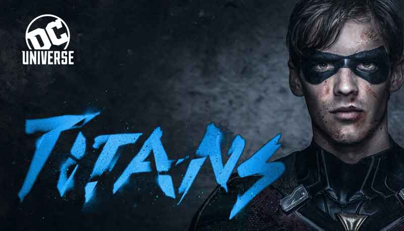 DC Universe streaming service TITANS tv show
