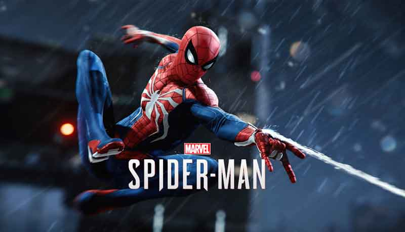 Spider-Man Game on Sony Playstation 4