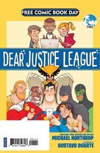 FCBD 2019 - Dear Justice League