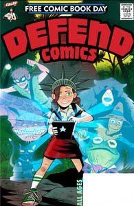FCBD 2019 - Defend Comics