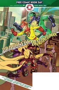 FCBD 2019 - Dragonfly & Dragonflyman