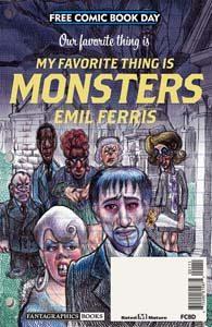 FCBD 2019 - Monsters
