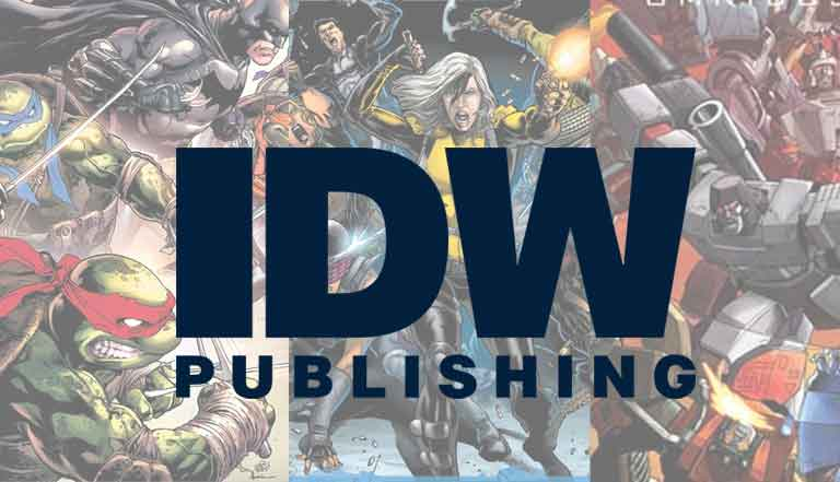 All you need to know about IDW publishing
