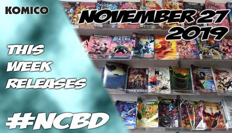 November 27 2019 New Comics lineup